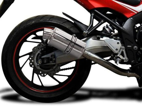 DELKEVIC Honda CB650F / CBR650F Full Exhaust System with SS70 9