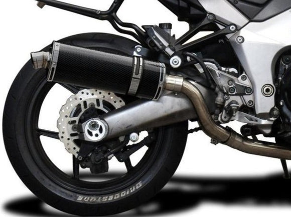 DELKEVIC Kawasaki Ninja 1000 / Z1000 Full Exhaust System with Stubby 14
