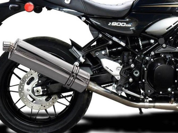 DELKEVIC Kawasaki Z900RS Full Exhaust System with Stubby 18