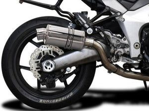"DELKEVIC Kawasaki Ninja 1000 / Z1000 Full Exhaust System with SS70 9"" Silencers"