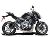 "DELKEVIC Kawasaki Z900 Full Exhaust System with DS70 9"" Carbon Silencer"