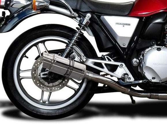 DELKEVIC Honda CB1100 Full Exhaust System with Mini 8