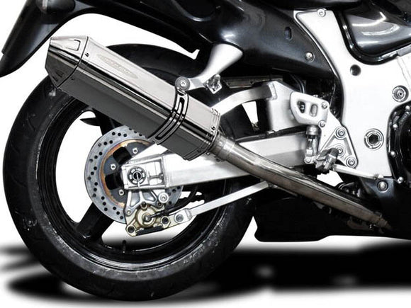 DELKEVIC Suzuki GSXR1300 Hayabusa (99/07) Full 4-2 Exhaust System with 13