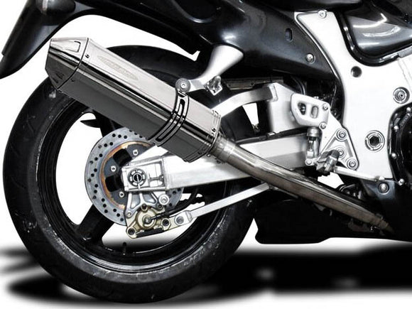 DELKEVIC Suzuki GSXR1300 Hayabusa (99/07) Full 4-1 Exhaust System with 13