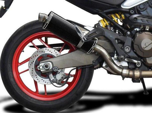 DELKEVIC Ducati Monster 821 / 1200 Slip-on Exhaust Stubby 14