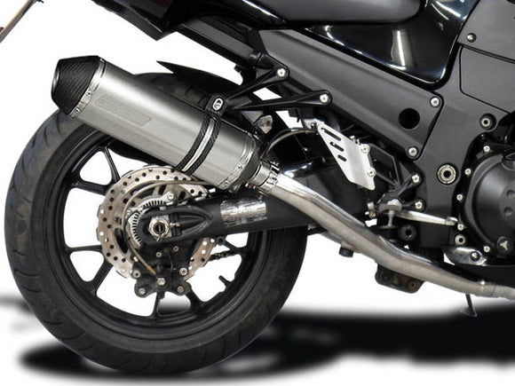 DELKEVIC Kawasaki Ninja ZX-14 (08/11) Full Exhaust System with 13.5