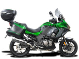 "DELKEVIC Kawasaki Versys 1000 Full Exhaust System with SL10 14"" Silencer"
