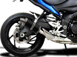 "DELKEVIC Suzuki GSX-S1000 Full Exhaust System with DS70 9"" Carbon Silencer"