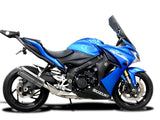 "DELKEVIC Suzuki GSX-S1000 Full Exhaust System with Stubby 14"" Silencer"