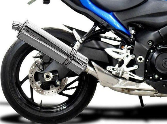 DELKEVIC Suzuki GSX-S1000 Full Exhaust System with Stubby 18