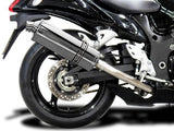 "DELKEVIC Suzuki GSXR1300 Hayabusa (08/20) Full 4-1 Exhaust System with Stubby 14"" Silencer"