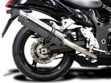 "DELKEVIC Suzuki GSXR1300 Hayabusa (08/20) Full De-Cat 4-2 Exhaust System with SL10 14"" Silencers"
