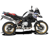 DELKEVIC BMW F750GS / F850GS Slip-on Exhaust Stubby 18""