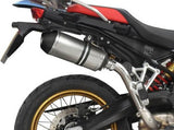 "DELKEVIC BMW F750GS / F850GS Slip-on Exhaust 10"" X-Oval Titanium"