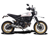 DELKEVIC Ducati Scrambler Desert Sled Slip-on Exhaust Mini 8""