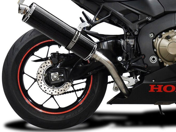 DELKEVIC Honda CBR1000RR (17/19) Slip-on Exhaust Stubby 18