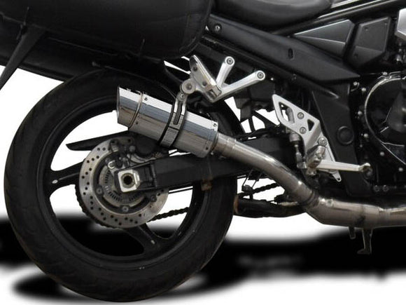 DELKEVIC Suzuki GSX1250FA Traveller Full Exhaust System with Mini 8