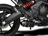 "DELKEVIC Kawasaki Versys 650 (07/14) Full Exhaust System with DS70 9"" Carbon Silencer"