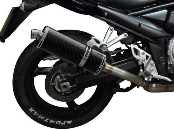 DELKEVIC Suzuki GSF1250 Bandit Full Exhaust System with Stubby 14