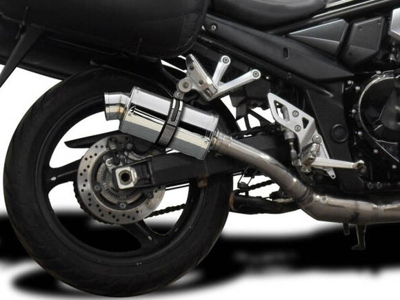 DELKEVIC Suzuki GSX1250FA Traveller Full Exhaust System with SS70 9