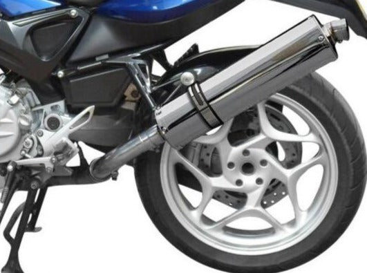 DELKEVIC BMW F800S / F800ST Slip-on Exhaust Stubby 18