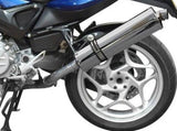 DELKEVIC BMW F800S / F800ST Slip-on Exhaust Stubby 18""