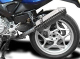 "DELKEVIC BMW F800S / F800ST Slip-on Exhaust 13"" Tri-Oval"