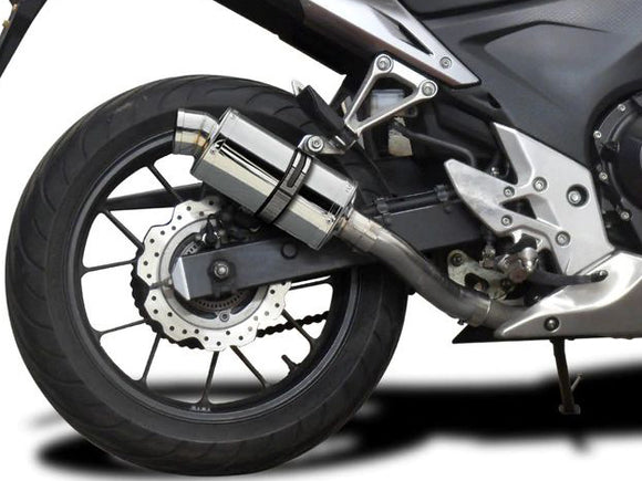 DELKEVIC Honda CBR500R Slip-on Exhaust SS70 9