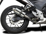 DELKEVIC Honda CBR500R Slip-on Exhaust SS70 9""