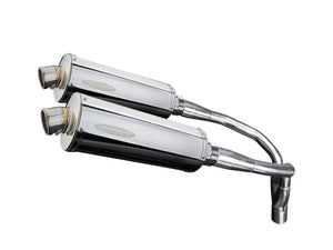 DELKEVIC Honda CB900F (02/07) Slip-on Exhaust Stubby 14""