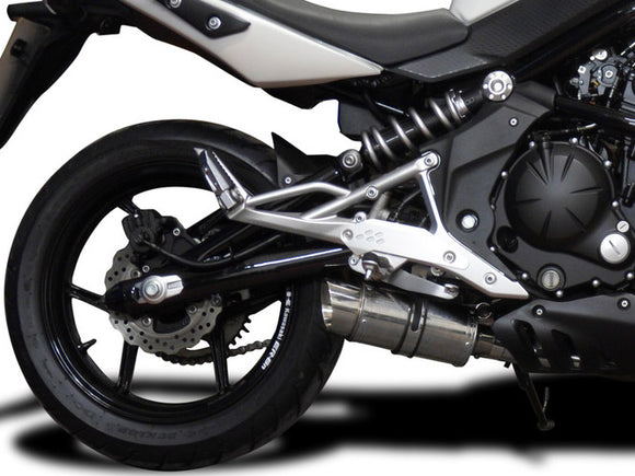 DELKEVIC Kawasaki ER-6N (09/11) Full Exhaust System with Mini 8