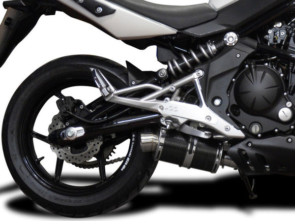 DELKEVIC Kawasaki ER-6N (09/11) Full Exhaust System with DS70 9