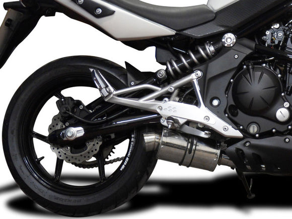 DELKEVIC Kawasaki ER-6N (09/11) Full Exhaust System with SS70 9