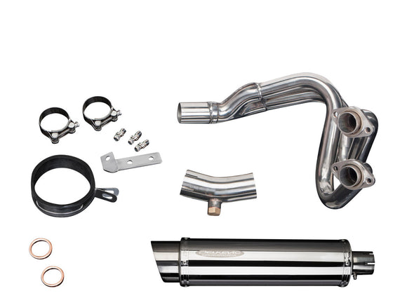 DELKEVIC Kawasaki Versys 650 (07/14) Full Exhaust System with SL10 14