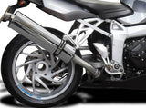 DELKEVIC BMW K1200S Slip-on Exhaust Stubby 18""