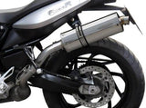 DELKEVIC BMW F800R (09/16) Slip-on Exhaust Stubby 14""