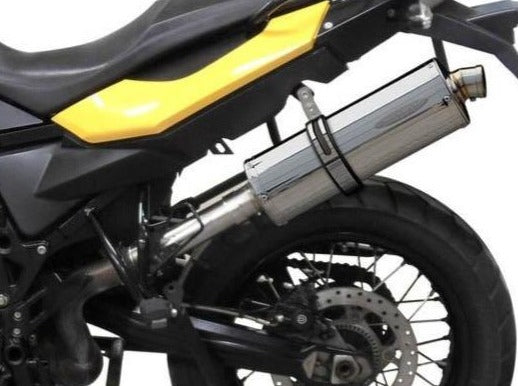 DELKEVIC BMW F650GS / F700GS / F800GS Slip-on Exhaust Stubby 14