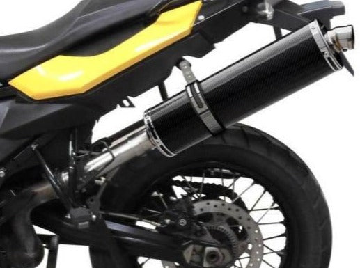 DELKEVIC BMW F650GS / F700GS / F800GS Slip-on Exhaust Stubby 18