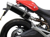 "DELKEVIC Ducati Monster 696 Slip-on Exhaust DL10 14"" Carbon"
