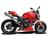 DELKEVIC Ducati Monster 796 Slip-on Exhaust SL10 14""