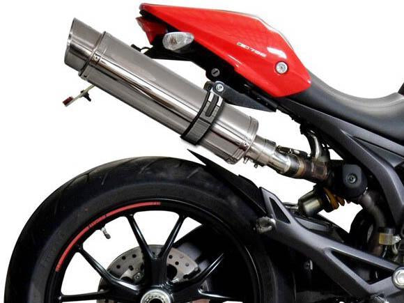 DELKEVIC Ducati Monster 796 Slip-on Exhaust SL10 14