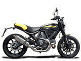 DELKEVIC Ducati Scrambler 800 Slip-on Exhaust Stubby 14""