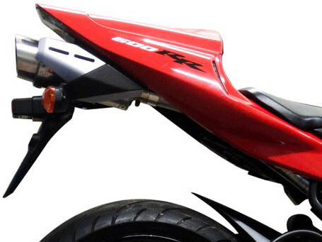 DELKEVIC Honda CBR600RR (03/04) Slip-on Exhaust Mini 8