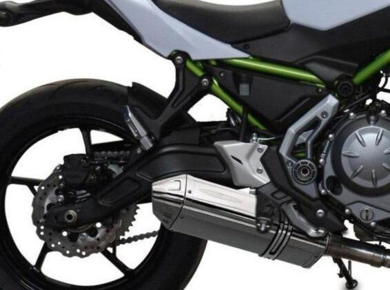 DELKEVIC Kawasaki Z650 Full Exhaust System with 13