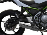 "DELKEVIC Kawasaki Z650 Full Exhaust System with SL10 14"" Silencer"