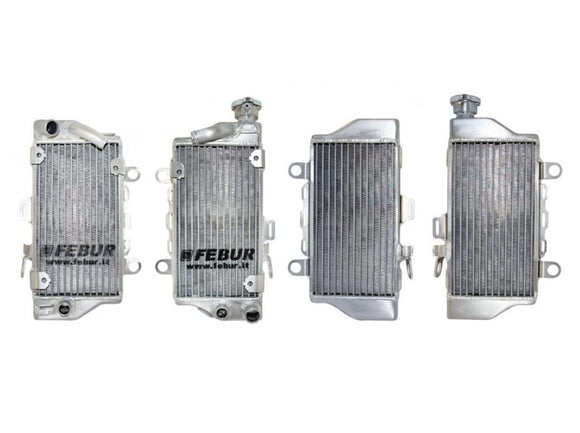 FEBUR Honda CRF1000L Africa Twin Racing Water Radiators (Pair)