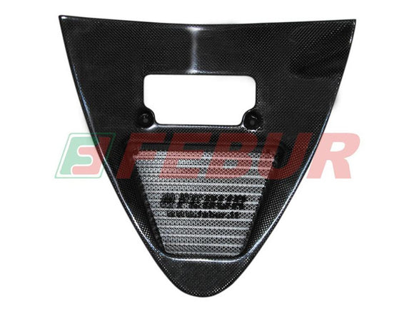 FEBUR Ducati Superbike 748/916/996 (94/02) Complete Street Increased Water Radiator with Carbon Air Intake Tunnel