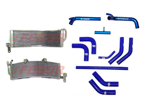 FEBUR Ducati Superbike 848/1098/1198 (07/13) Additional Racing Water Radiator (With silicon hoses)