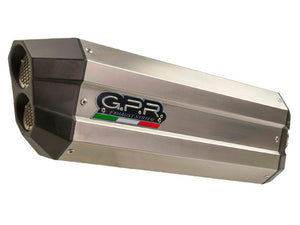 "GPR BMW R1200GS (04/09) Slip-on Exhaust ""Sonic Inox"" (EU homologated)"