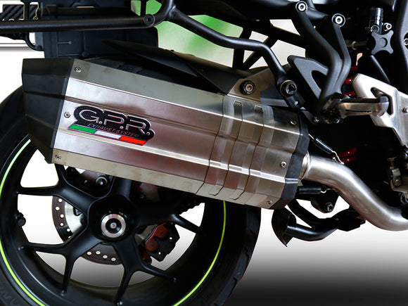 GPR BMW R850R (03/07) Slip-on Exhaust